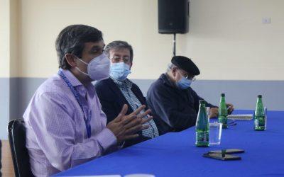 Reunión de Municipio con Seremi Salud y gremios del comercio y gastronomía
